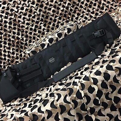 NEW Valken Tactical Shotgun Paintball Airsoft Scabbard Gun Case - Black