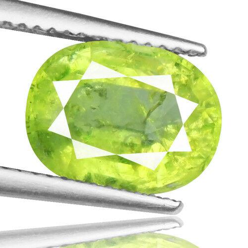 Tsavorite Family Garnet 4.43ct yellowish green color 100% natural earth mined