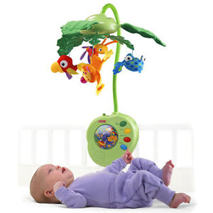 Rainforest™ Peek-a-Boo Leaves Musical Mobile™ from Fisher Price West Island Greater Montréal image 1