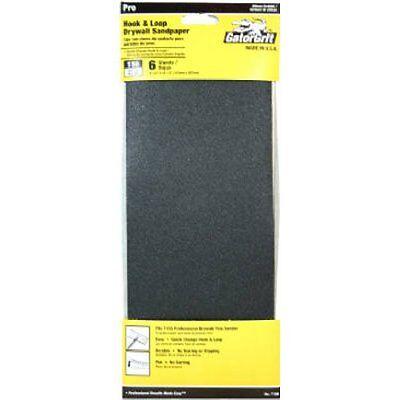 Ali Industries 7159 6ct 150 Grit Drywall Dry Sandpaper