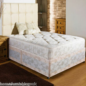 New firm ortho divan bed 10 inch mattress sizes 2ft6 3ft for Cheap divans sale