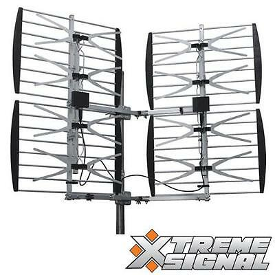 Solid Signal Xtreme Signal VHF/UHF Outdoor TV Antenna (HDB8X)