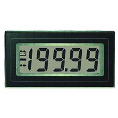 Lascar Dpm 160 4 12-digit Lcd Panel Voltmeter W200 Mv Dc 2v Dc