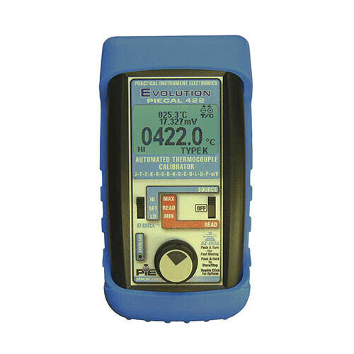 PIE 422 Multiple Thermocouple Type Calibrator for 14 Types, mV/0.1°