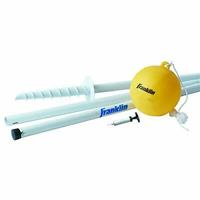 Tetherball Ball Rope Pole Set Portable Steel Tetherball Set With Easy Assembly