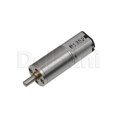 Dc Gear Motor High Torque 12ga 3v 10rpm Sealed Gears For Diy Robotics Arduino