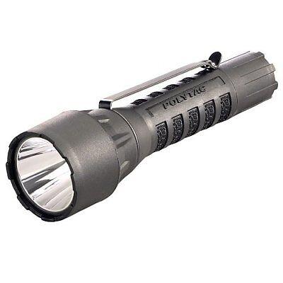 Streamlight 88860 Polytac LED hp Taschenlampe mit Lithium Batterien - Schwarz Lithium-batterien Taschenlampe
