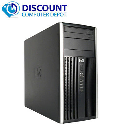 Fast HP Tower Windows 10 Desktop Computer Intel 3.1GHz 4GB RAM HD 250GB WiFi