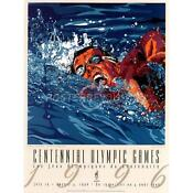 Olympic Swimming Poster