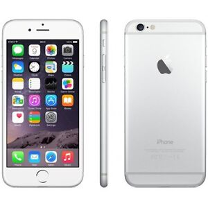 White iPhone 6 with bell