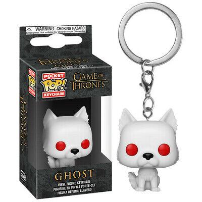 Game of Thrones Ghost Pocket Pop! Keychain