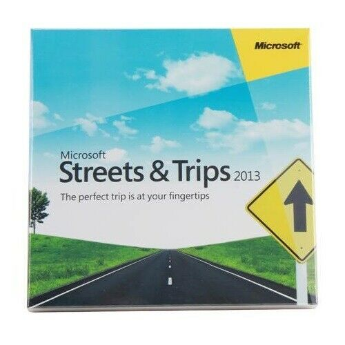 Microsoft Streets & Trips 2013 Plan your trip easy Navigation