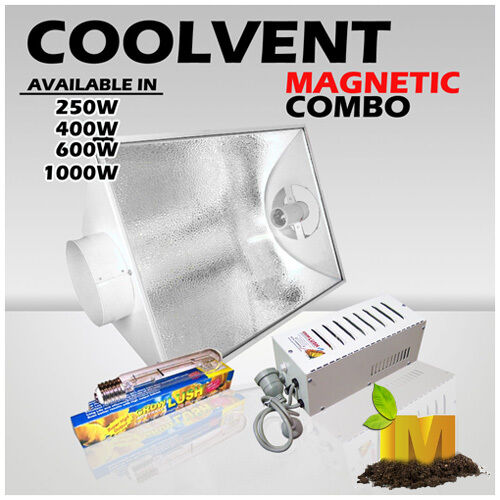 Hydroponics-400W-Magnetic-Ballast-Lighting-kit-with-Cool-Vent-hood-and-HPS-lamp