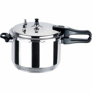 Aluminium pressure cooker pan with safety valve kitchen cookware 7l 7 litre - Cocotte minute aluminium ...
