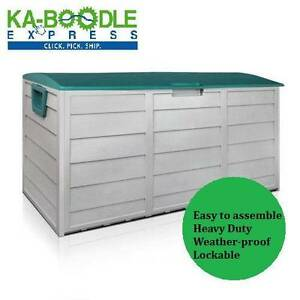 NEW 290L Plastic Outdoor Storage Box Container Weatherproof Brisbane City Brisbane North West Preview
