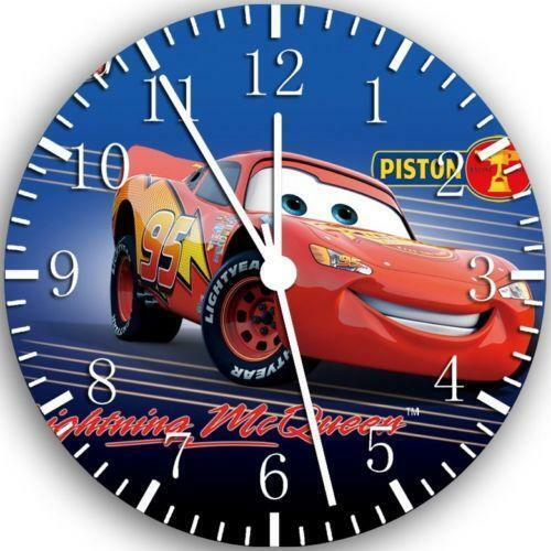 Disney Cars Wall Clock Ebay