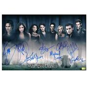 Vampire Diaries Cast Signed