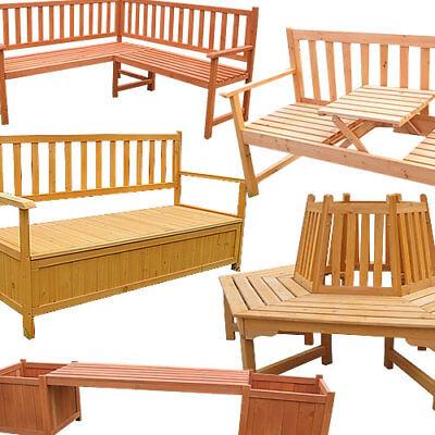 Gartenbank Sitzbank Bank Holzbank Parkbank Sitzer Gartenmöbel Garten Holz Baum