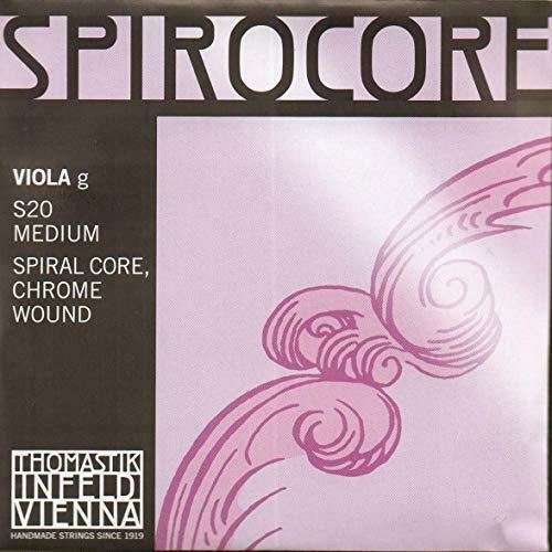 Thomastik-Infeld S20 Spiral Core Chrome Wound Custom Spirocore Viola Strings