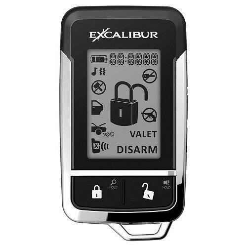 Excalibur 15903 Logo Car/Truck Security Alarm 2-Way Remote Start Transmitter