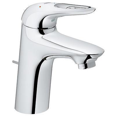 Rubinetto miscelatore monocomando per lavabo Eurostyle Grohe con limitatore