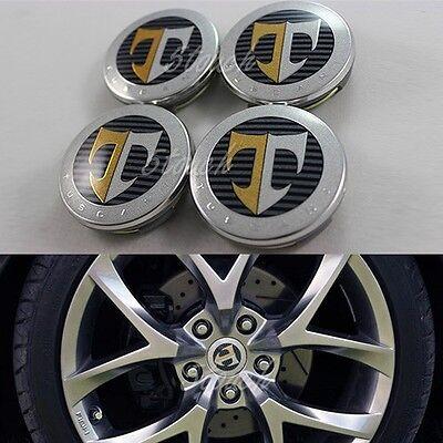 Hyundai Tiburon Coupe TUSCANI [T] 17 INCH Center Wheel Cap Set 03-08 GENUINE OEM