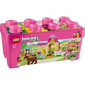 Brand new sealed Lego Juniors 10674 Pony Farm. Unwanted gift. Good for Christmas..
