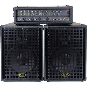 Squier 4 Channel PA *Speakers only*