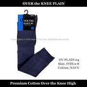 Knee High Socks Cotton
