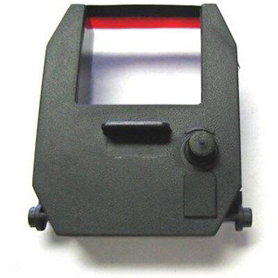 Time Clock Ribbon For Compumatic Tr440as Tr440ds Time Recorder Blackred