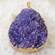 Purple Agate Druzy