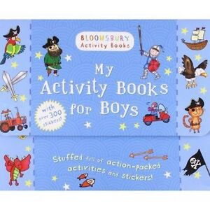 Anonymous-My Activity Books For Boys  BOOK NEW