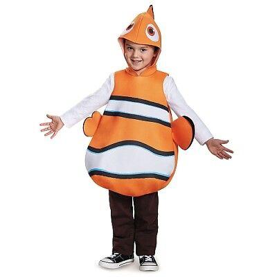 Finding Dory Child Nemo Halloween Dress-Up Costume One Size #7463 (Nemo Dress Up)