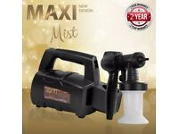 PROFESSIONAL MAXI MIST SPRAYMATE TNT SPRAY TAN MACHINE & TENT PLUS ACCESSORIES