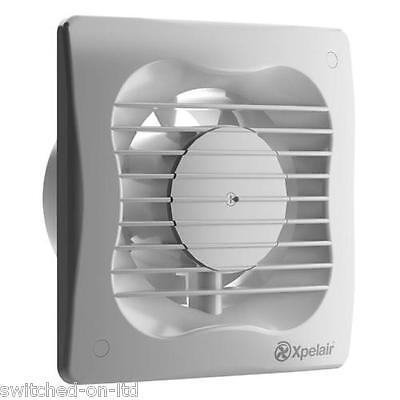 "XPELAIR VX100 Extractor Fan 4"" Standard Kitchen Bathroom Fan"