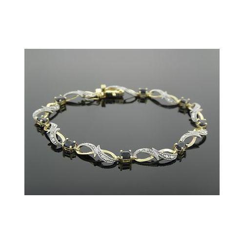 Diamond 925 Silver Bracelet Ebay