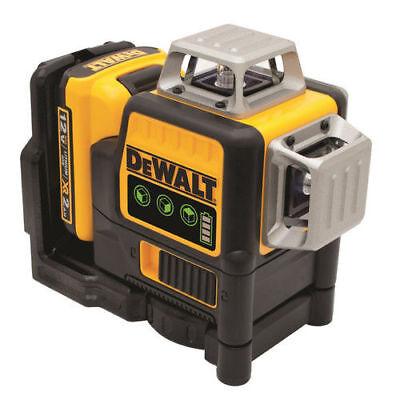 DeWalt DW089LG 12V MAX Lithium-Ion Rechargable 3 x 360 Green Line Laser New