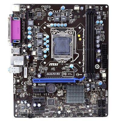 MSI H61M-P23 Socket LGA 1155 Motherboard for Intel Core i7 i5 i3 CPU GbE VGA