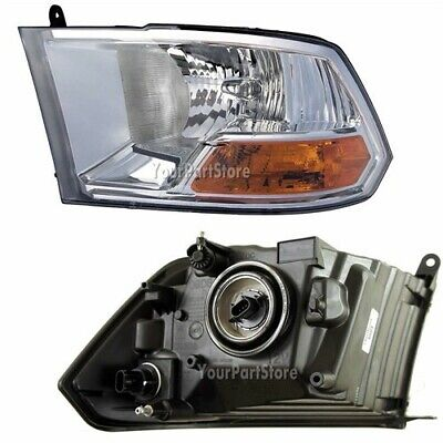 09-12 DODGE RAM PU FRONT HEADLAMP Headlight LIGHT Assembly Driver Side LEFT