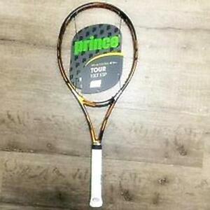 PRINCE TOUR 100T TENNIS RACQUET ,GRIP 4 0/8 , NEW