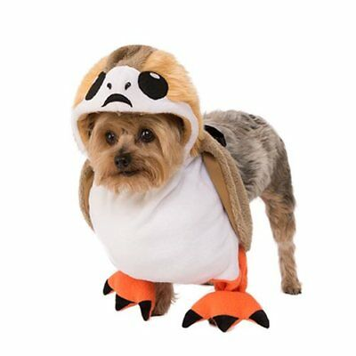 Star Wars The Last Jedi SMALL Dog porg Costume Size Medium UK SELLER](Star Wars Dog Costumes Uk)