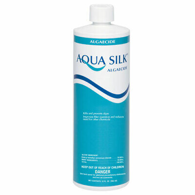 Aqua Silk Algaecide For Chlorine-Free Swimming Pool 1 Quart