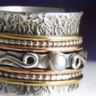 Pearl Spinner Sterling Silver Handcrafted Rings