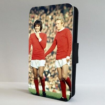 George Best Dennis Law Man U FLIP PHONE CASE COVER for IPHONE