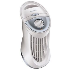 Honeywell QuietClean Compact Tower Air Purifier with Permanent F