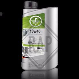 REKTOL 10w40 Semi Synthetic Engine Oil 1L Litre - Brand New Un-Opened
