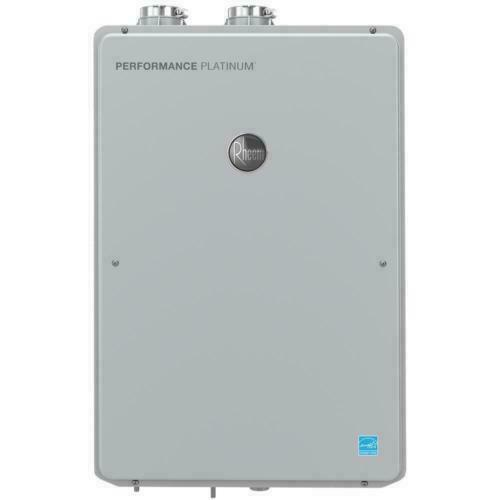 NEW Rheem 9.5GPM Natural Gas Indoor Tankless Water Heater Pl