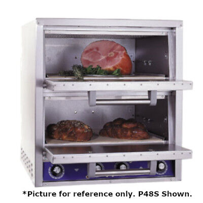 Bakers Pride P-48BL Brick Lined Electric Countertop Bake and Roast Oven