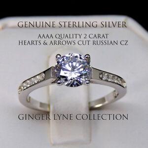 Stunning AAAA Cubic Zircoina non tarnish ring 100% NEW