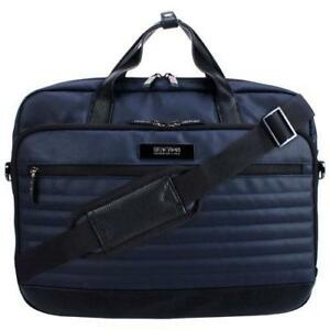 "Kenneth Cole KCR5427713 Modern Casual 15.6"" Laptop Designer Bag - Navy  (New Other)"